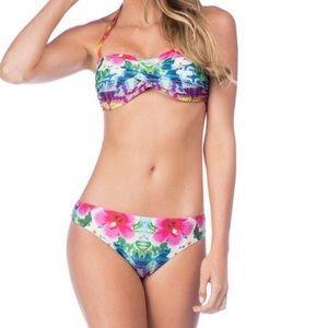 Nanette Lepore Playa Nayarit Tease Bandeau Bikini